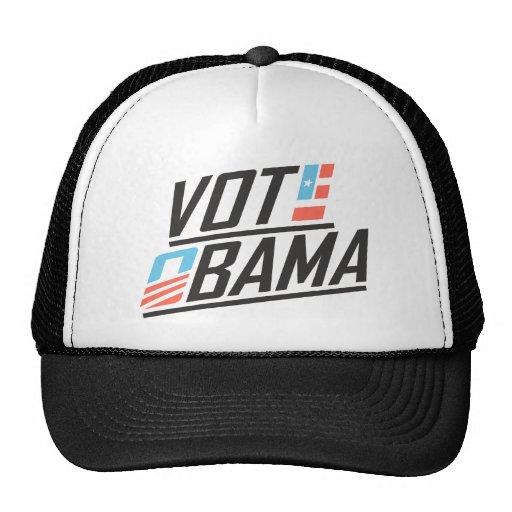 Voto patriótico Obama Gorras De Camionero