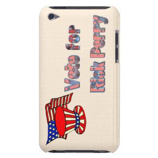 Voto patriótico para Rick Perry iPod Touch Cárcasas