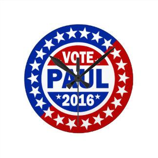 Voto Paul 2016 Reloj