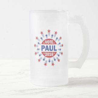 Voto Paul 2016 Taza De Cristal