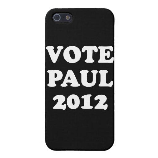 VOTO PAUL en 2012 (blanco) iPhone 5 Carcasas
