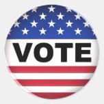 Voto - pegatina