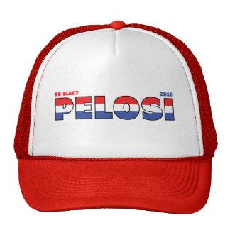 Voto Pelosi 2010 elecciones blanco y azul rojos Gorras