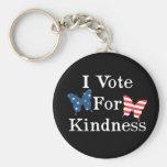 Voto por amabilidad llavero personalizado