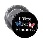 Voto por amabilidad pin