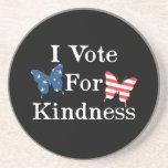 Voto por amabilidad posavasos diseño