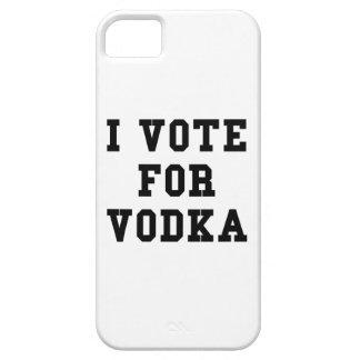 Voto por la vodka funda para iPhone SE/5/5s