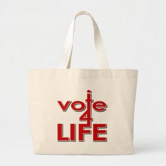 Voto por vida bolsas