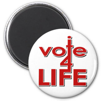 Voto por vida iman de frigorífico