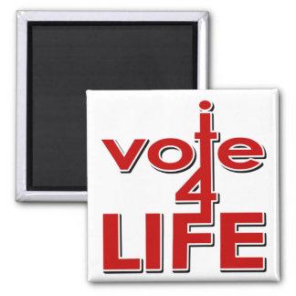 Voto por vida imán de frigorifico