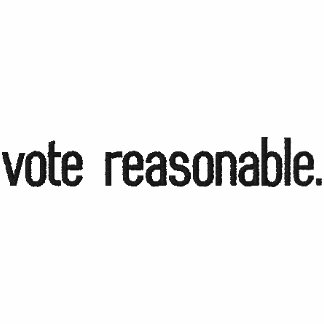 voto razonable polo bordado de mujer