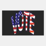 Voto Rectangular Altavoz