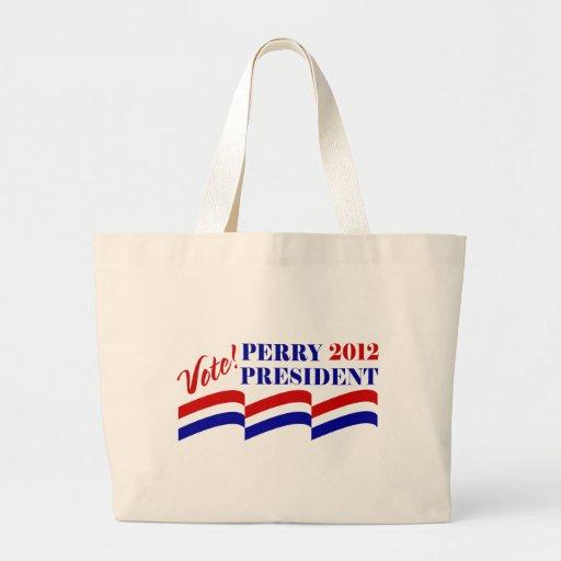 Voto Rick Perry para el presidente 2012 Bolsas