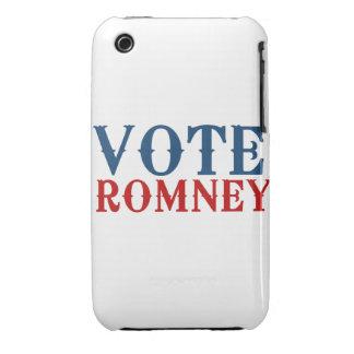 VOTO ROMNEY 2012 iPhone 3 Case-Mate PROTECTORES