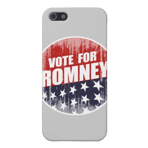 VOTO ROMNEY BUTTON.png iPhone 5 Carcasas