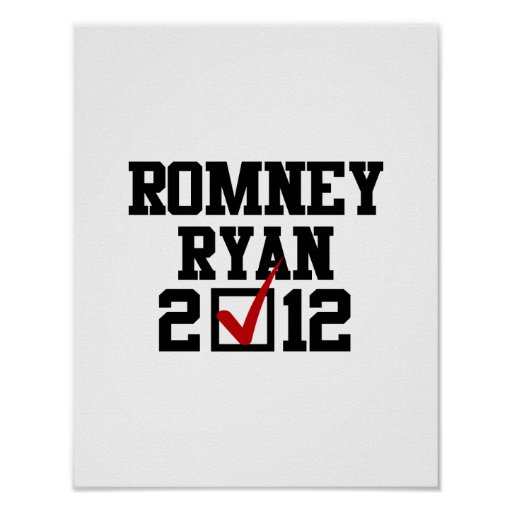VOTO ROMNEY RYAN 2012 IMPRESIONES