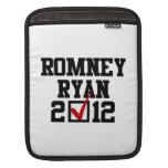 VOTO ROMNEY RYAN 2012 MANGAS DE iPad