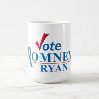 Voto Romney Ryan - Obama anti Taza Clásica