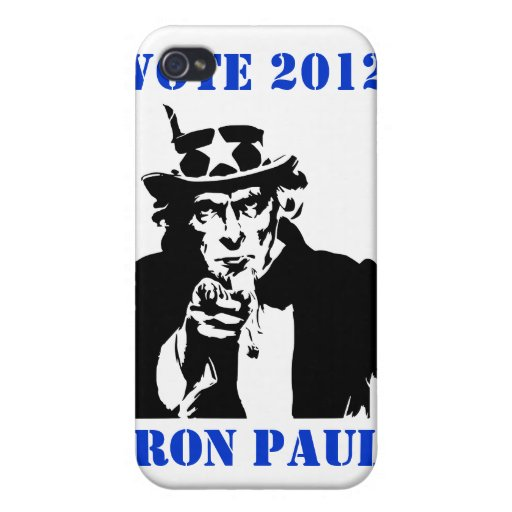 VOTO RON PAUL 2012 iPhone 4 PROTECTORES