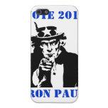 VOTO RON PAUL 2012 iPhone 5 FUNDAS