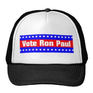 Voto Ron Paul Gorro De Camionero