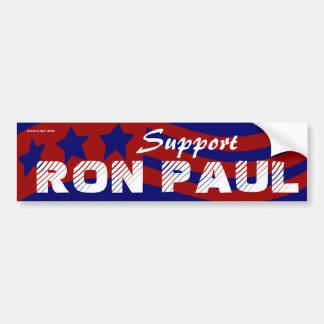 Voto Ron Paul para el presidente elección 2012 Pegatina De Parachoque
