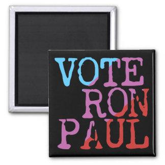Voto Ron Paul para el presidente Imán Cuadrado