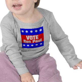 Voto Ron Paul Camisetas