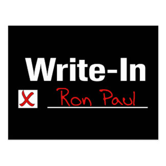 VOTO RON PAUL TARJETAS POSTALES