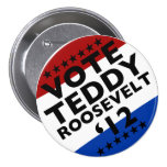 Voto Roosevelt '12 Pin