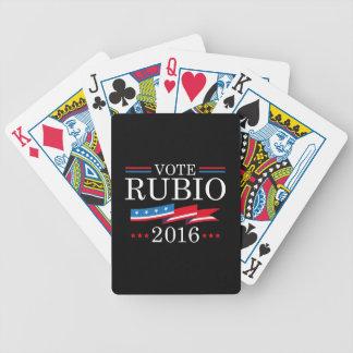 Voto Rubio 2016 Baraja Cartas De Poker