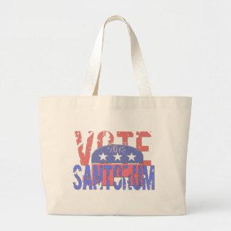 Voto Santorum 2012 Bolsas