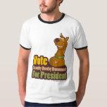 Voto Scooby Dooby Doo para el presidente Playeras