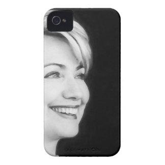 Voto sí para Hillary en 2016 iPhone 4 Case-Mate Funda