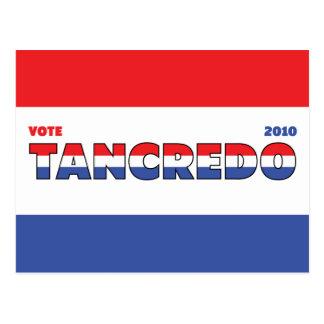 Voto Tancredo 2010 elecciones blanco y azul rojos Postales