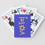 ¡VOTO! tarjetas Baraja Cartas De Poker