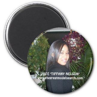 VOTO TIFFANY NELSON IMÁN DE FRIGORIFICO
