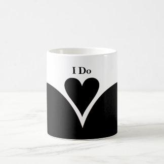 Votos de boda taza