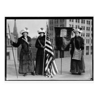 Votos de los Suffragettes para los prospectos del Postal