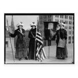Votos de los Suffragettes para los prospectos del Tarjetas Postales