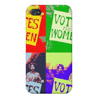Votos para el caso de las mujeres iPhone 4 funda