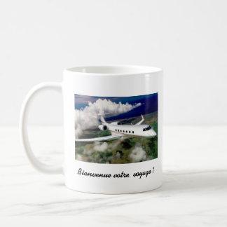 votre voyage classic white coffee mug