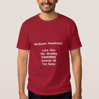 Vouchers, Not Tax Cuts T Shirt