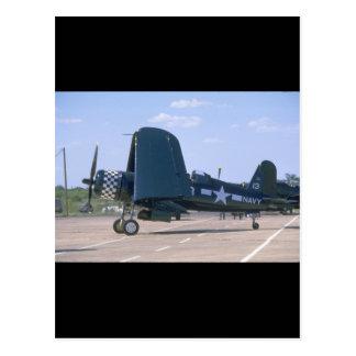 Vought F4U Corsair, Folded Wings_WWII Planes Postcard