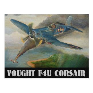 Vought F4U Corsair Postcard