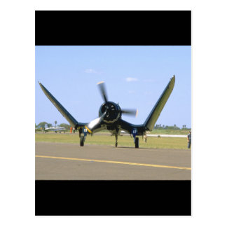 Vought F4U Corsair, Wings Unfolding_WWII Planes Postcard