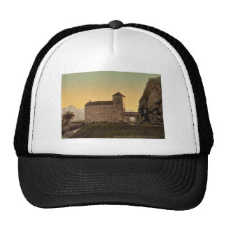 "Voury, the ""Port du Scex"" (Gate of Scex), Valais, Trucker Hat"