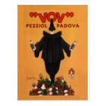 Vov Pezziol Padova ~ Leonetto Cappiello Italy 1922 Postcard