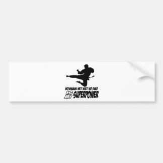 vovinam vet viet dao is my superpower bumper sticker
