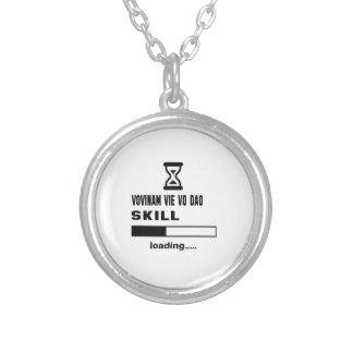 Vovinam vie vo dao skill Loading...... Silver Plated Necklace